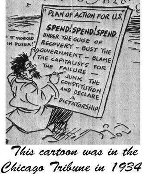 1934 Cartoon