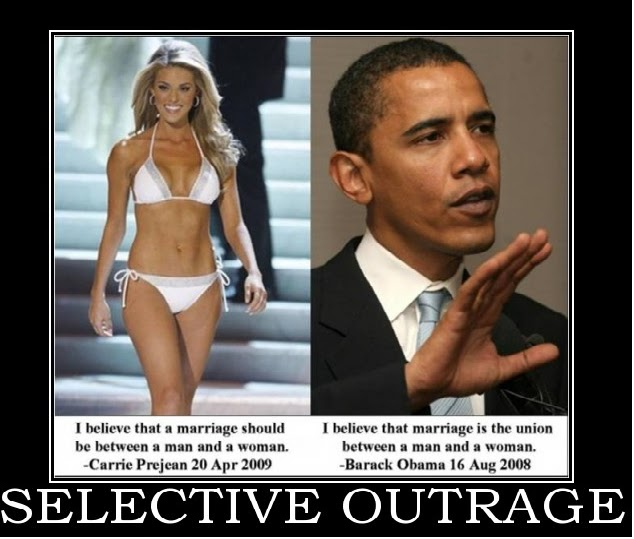 Selective Outrage