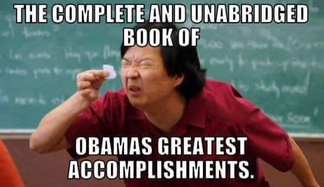 Book of Obama's accomplishments
